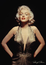 Marilyn Monroe (Gold) poster print by  Unknown