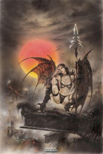 Black Tinkerbell (Luis Royo) poster print by  Royo