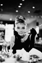 Audrey Hepburn - Breakfast At Tiffanys poster print