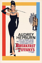 Audrey Hepburn - Breakfast At Tiffanys poster print by  Movie Poster