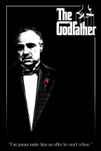 Godfather - Red Rose poster print by  Movie Poster