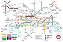 London Underground Map poster print