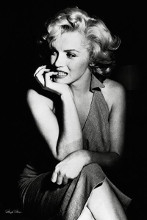 Marilyn Monroe (Sitting) poster print by  Anonymous