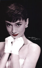 Audrey Hepburn - Lips poster print by  Unknown