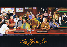 Legend Bar poster print