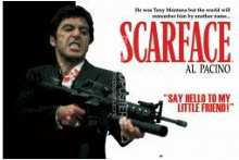Scarface (Gun) poster print by  Novelty
