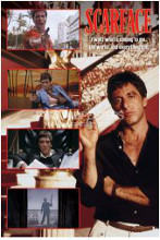 Scarface (The World) poster print by  Novelty