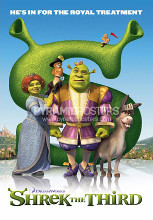 Shrek The Third poster print by  Novelty