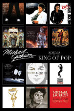 Michael Jackson (Album Covers) poster print by  Novelty