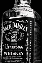 Jack Daniel's Bottle poster print by  Novelty