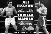 Muhammad Ali Vs Joe Frazier poster print by  Novelty