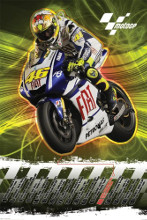 Moto GP (Valentino Rossi 2010) poster print by  Novelty