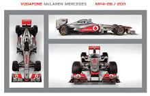 Mclaren (F1 Mp4-26) poster print by  Novelty