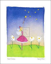 Felicity Wishes I poster print by Emma Thomson