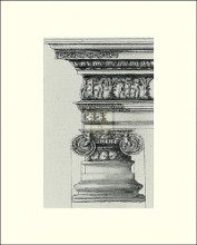 English Architectural II poster print by  The Vintage Collection