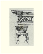 English Architectural III poster print by  The Vintage Collection