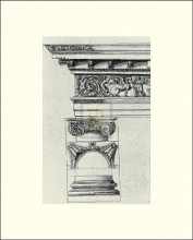 English Architectural IV poster print by  The Vintage Collection