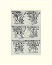 English Architectural VI poster print by  Unknown