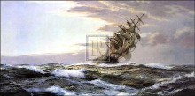 Glory of the Seas poster print by Montague Dawson