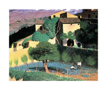 Cagnes poster print by Felix Vallotton