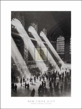 Grand Central Station poster print by  Hulton-Getty
