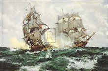 Days of Adventure poster print by Montague Dawson
