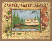 Camper Sweet Camper poster print by Anita Phillips
