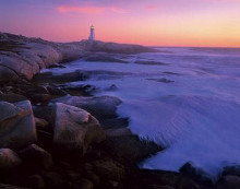 Peggy's Cove poster print by John Gavrilis