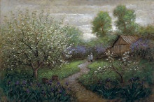 Spring Blossom poster print by Jon McNaughton