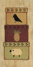 Crow, Pineapple poster print