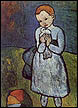Child with a Dove poster print by Pablo Picasso
