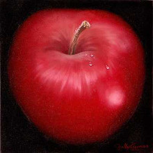 Red Apple poster print