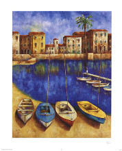 Siesta poster print by Wendy Wooden