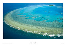 Lady Musgrave Island - Qld poster print by Steve Parish