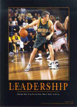 Leadership (Andrew Gaze) poster print by  SuccessCorner