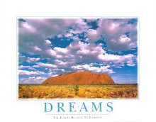 Dreams poster print by  SuccessCorner