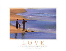 Love poster print by  SuccessCorner