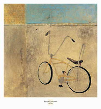 My Bike poster print by Peter Kuttner