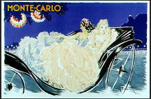 Monte Carlo poster print by Louis Icart