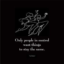 Only People In Control poster print by  Sir Shadow