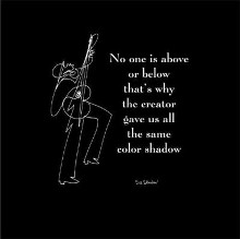 No One Is Above poster print by  Sir Shadow