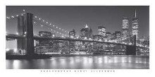 Brooklyn Bridge poster print by Henri Silberman