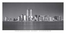New York Skyline poster print by Henri Silberman