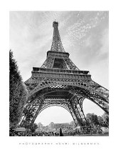 La Tour Eiffel, Paris poster print by Henri Silberman