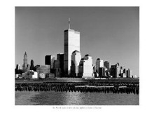 World Trade Center poster print by Henri Silberman