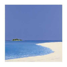 Island In The Sun I poster print by Werner Eick