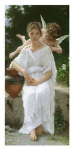 Premiers Amours poster print by William-Adolphe Bouguereau