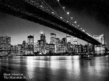 Manhattan Skyline poster print