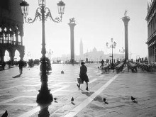 St. Mark's Square, Venice poster print by Monochrome Gallery