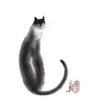 Chinese Cat II poster print by Cheng Yan